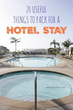 20 Useful Things to Pack for a Hotel Stay whether you're traveling with kids, going on an internatio Spring Break Destinations, Travel Destinations, Travel Essentials, Travel Tips, Travel Packing, Cruise Packing, Europe Packing, Traveling Europe, Bus Travel