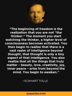 the ego isn't wrong - Eckhart Tolle Eckhart Tolle, The Words, Spiritual Awakening, Spiritual Quotes, Spiritual Health, Enlightenment Quotes, Affirmations, Power Of Now, All That Matters