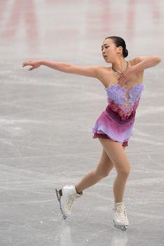 Mao Asada Mao Asada of Japan performs in the Ladie's short program during All Japan Figure Skating Championships at Saitama Super Arena on December 22, 2013 in Saitama, Japan.