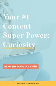 Curiosity may have killed the cat (who else hates that phrase? Rev up your content marketing with your THIS content superpower. Marketing Calendar, The Marketing, Marketing Ideas, Digital Marketing, Business Advice, Online Business, Work Planner, Never Stop Learning, Content Marketing Strategy