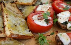 Vegetarian Grilling Series: Grilled Caprese Tomatoes   Seasonal & Savory