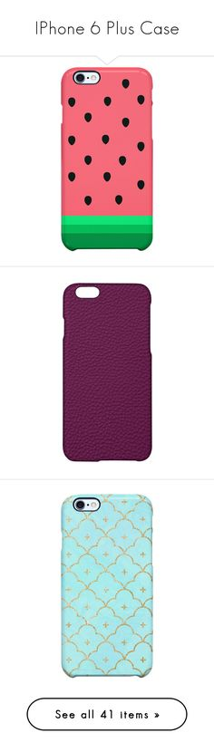 """""""IPhone 6 Plus Case"""" by vane-abreu ❤ liked on Polyvore featuring accessories, tech accessories, multi, phone cases, phones, cases, electronics, black, cinder and apple iphone cases"""