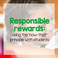 Responsible rewards: