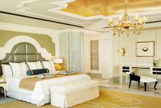 Guest Rooms I St. Regis Abu Dhabi I Accommodation in Abu Dhabi | Al Manhal Suite