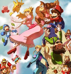 Super Smash Brothers - Ha-tcha by oNichaN-xD.deviantart.com on @DeviantArt