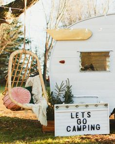 After seeing this lovingly restored 1963 Shasta, we're already planning our next glamping adventure.