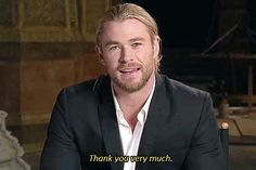 Chris Hemsworth Will Be Using His 'Sexiest Man Alive' Title To Get Out Of Doing Housework! Quote Of The Day!