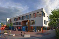 Humanistische Grundschule Fürth - Neubau   diesseits