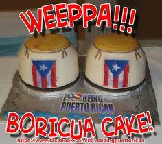Boricua cake Puerto Rico Food, Puerto Rican Recipes, Caribbean Recipes, Spanish Food, Puerto Ricans, Sweet Cakes, Themed Cakes, Beautiful Cakes, Cake Designs