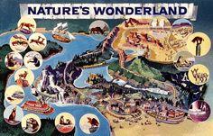 Thunder Mesa Mining Co.: Thunder Mesa Inspirations #1: Disneyland's Mine Train Thru Nature's Wonderland