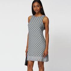 Klänning med abstrakt mönster - Ex-Branded