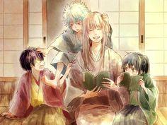Sakata Gintoki, Takasugi Shinsuke, Katsura Kotaro, and Shouyou Yoshida (sensei) Manga Art, Manga Anime, Anime Art, Katsura Kotaro, Okikagu, All Anime, Samurai, Drawings, Artwork