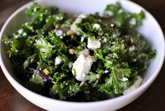 Kale and Ricotta Salad from Kim Severson and Gourmet Recipe Reviews