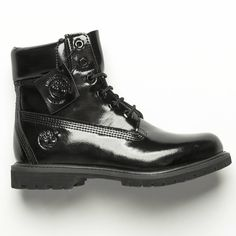 Timberland have got us at a gloss for words right now. The boot love is REAL. Timberland 6 Inch, Timberland Boots, Combat Boots, Ankle Boots, Black Timberlands, Shoe Shop, Kid Shoes, 6 Inches, Black Boots
