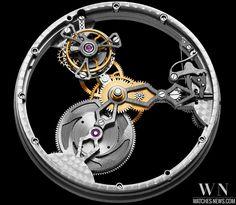 www.watches-news.com Hysek - IO Skeleton Tourbillon #Watch