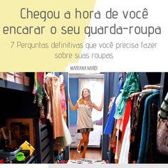 Seu guarda-roupa está cheio e vc nunca tem roupa pra sair? Você compra, compra, compra e vive com a mesma roupa? Amiga, é hora de encarar…