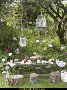 Decorating theme bedrooms - Maries Manor: fairy birthday ...