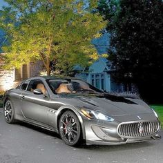 Maserati this is such a beautiful machine...I need one!