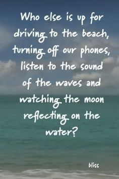Beach Ocean Quotes, Beach Life Quotes, Summer Quotes, Fish Jokes, Wall Quotes, Me Quotes, Ocean Pictures, Recovery Quotes, Soul Healing