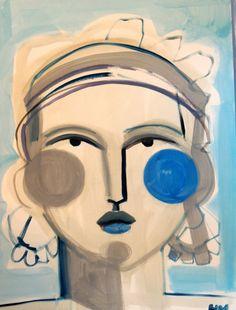Artist Spotlight Series Hayley Mitchell The English Room Art Faces Face Art