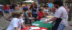"""Pais e filhos, tios e sobrinhos, amigos e vizinhos estão convidados a participar das brincadeiras, leitura, produções e conversas da atividade educativa """"maiúsculos & MINÚSCULOS"""", comandada pela equipe de educadores do Espaço de Leitura. Às 11 da manhã, no sábado, e domingo, com entrada Catraca Livre. No sábado, às 15h, o grupo A I V...<br /><a class=""""more-link""""…"""
