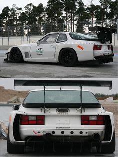 Porsche 944 time attack