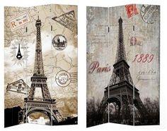 Hti-Line HTI-Line Paravent »Eiffelturm«