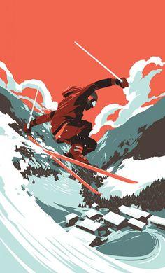 Shop Skier by Matt Taylor