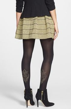 Pretty Polly 'Ornate' Tights available at #Nordstrom