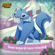 Have you heard the amazing news? SNOW LEOPARDS have returned to Jamaa! Become one of these beautiful and elusive big cats today! Celebrate these amazing cats with a cool AJ Academy experiment that's free to download! Have fun and PLAY WILD!