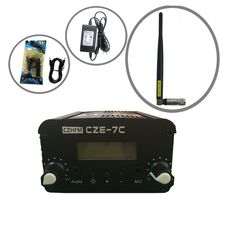 czh-cze fm Broadcast Transmitter..Broadcast FM Station..Broadcast your own voice on air
