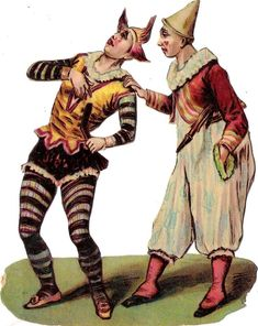 Oblaten Glanzbild scrap die cut chromo Zirkus  14,7 cm  circus cirque Clown