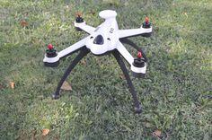 Novedad: Review del Flying 3D X8, un quadcoptero de grandes alturas