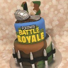 Image result for Fortnite Birthday Cake