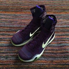 4206ca86d1b2 2018 Where To Buy Kobe X Nike Elite High Violet Volt Reflective Silver