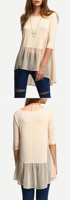 You have a super version of this blouse! Only  $13.99 now! It's so sweet and precious all you'll have to is bat those pretty eyes and you'll have your pick! Check our amazing pieces that suit you at shein.com