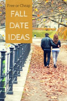 Fall Date Ideas - Fr