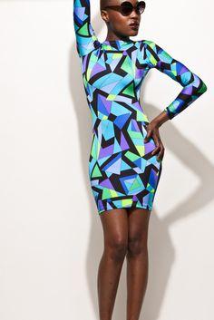 Blue LaLa Dress | Bad Girl's Club | Rue 107 | Rich Girl's Closet
