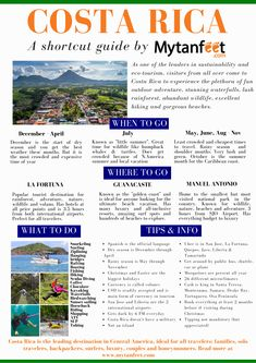 The Mytanfeet Costa Rica trip planning timeline guide to stress free planning. Travel Advice, Travel Guides, Travel Tips, Living In Costa Rica, San Jose Costa Rica, Road Trip Planner, Book Cheap Flights, Costa Rica Travel, Backpacking Tips