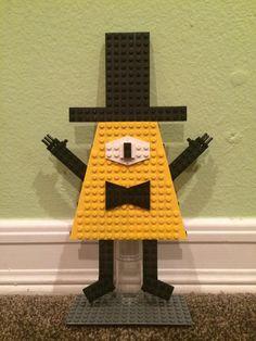 Lego Tv, Isosceles Triangle, Bill Cipher, Lego Creations, Disney Villains, Gravity Falls, Sunny Days, Meet, Wellness