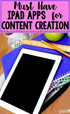 This post is packed with technology activities that strengthen the iPad in the classroom as a creation device and not a consumption device. Kid friendly technology ideas and visuals for every program and iPad app to create valuable technology integration lessons!