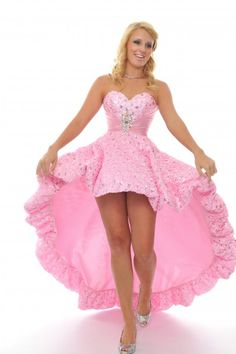 Pink Quinceanera Dress For Barbie Doll with Beading and Ruffles ...