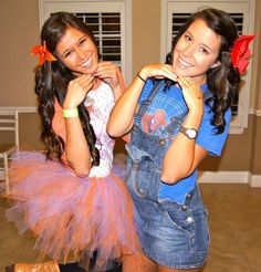 """""""Playdate,"""" recreate your look from when you were a kid.  Bows, overalls, and rosy cheeks. Kappa Delta, Phi Mu, Social Themes, Social Events, Sorority Costumes, Mixer Themes, Sorority Socials, Halloween Party, Halloween Costumes"""
