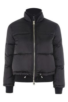 Quilted Puffer Jacket from Topshop $125