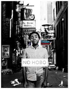 Can I stay at your place?  No hobo. - Childish Gambino