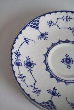 bleue et blanche, vaisselle des mers du nord