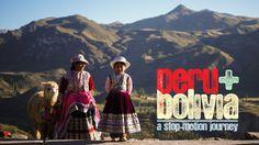 Un viaje a Perú y Bolivia en un impresionante #StopMotion