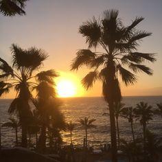 Tenerife, Palm Trees, Costa, Celestial, Sunset, Outdoor, Paisajes, Teneriffe, Outdoors