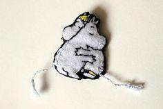 Moomin felt badge