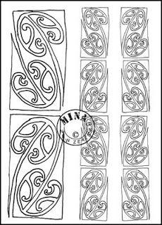 Maori Printables: Kowhaiwhai Colouring Page 4 Maori Designs, Maori Patterns, Maori People, Transition To Gray Hair, Maori Art, Key Design, Coloring Pages, Colouring, Printable Coloring